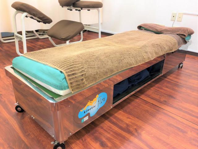 股関節矯正用水圧ベッド